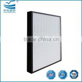 H12 H13 Fiberglass pleated paper HEPA air filter