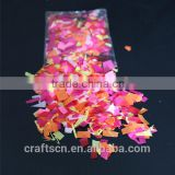 biodegradable tissue paper confetti for festival celebration
