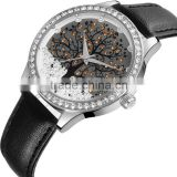 skone 9195 bling bling bezel full crystal dial Watches