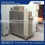 power saving biomass gasification stove wood pellet burner for steam boiler