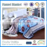 Cheap Price China Manufacturer Wholesale print or custom flannel fleece blanket