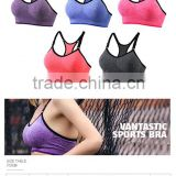 Women Cage Bralette Cutout Bandeau Bustier Crop Top Padded Sports Bra Workout