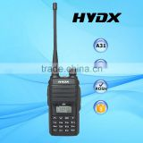 HYDX A31 uhf/vhf leisure communications Analog walkie talkie wholesale portable 2 way radio