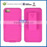 Pink Clip Belt Stand Holster Case Cover for Blackberry Z10