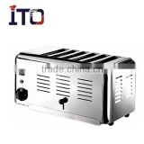 CH-6ATS Table Top Electric 6 Slice Toaster