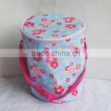 folding cooler bag with stand size lunch cooler bag with durable hard liner insulated cooler bag
