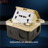 86 style multi function floor mounted electrical outlets