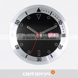 DEHENG 12'' wall clock with day and date