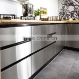 Hinge,Drawer Slide Accessories and MFC Stipple Finish Door Panel Surface Treatment modern kitchen cabinets