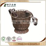 Big customers cooperation good quality china factory hot sale natural gift wicker basket no handles