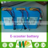 High power electric scooter battery pack 48v 20ah 30ah 40ah