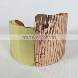Copper Cuff ,Indian brass cuff bracelet-party wear bracelet-Fashion Cuff bangle / Kada / Bracelets-wholesale Indian jewelry,