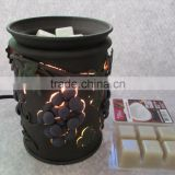 Metal Grape Electrial Candle Warmer Aroma oil burner Fragrance Diffuser