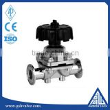 clamped water diaphragm sanitary control valve