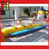 Use Yellow&Blue Inflatable banana Boat For Sale