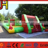 JH-SP Protable Inflatable Water Soap Soccer Field For Sale, Inflatable Soap Football Field