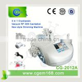 4 handle pieces Cryolipolisis slimming machine equipment
