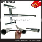 Christmas New Sale Stainless Steel Boat Fishing 3 Rod Holder