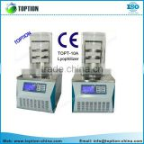 laboratory high vacuum equipment vacuum freeze dryer with imported compressor for food and vegetable drying