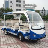 Deft design professional 8 seater sightseeing electric shuttle mini bus