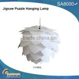 Modern Ceiling Pendant Contemporary IQ lights Jigsaw Puzzle Ze Lamp Light Shade M,L,XL JIGSAW LAMP