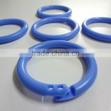 Plastic split ring