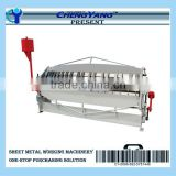 Manual Sheet Metal Press Brake for Pan or Box