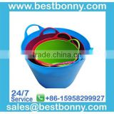 2014 High Quality Fashion Design plastic led ice bucket for beer promotional project