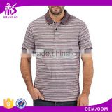 2016 Guangzhou Shandao Summer Yarn Dyed 200g 35%Cotton 65%Polyester Short Sleeve factory Direct Clothing Wholesale
