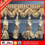 hi-ana trim2 Over 95% accessories exported Decorative beaded fringe trim