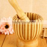 Daily Household Utensils Bamboo Garlic Pounder Daosuan Device,Environmental kitchen