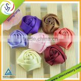hot sale make satin ribbon flowers designs of ribbon flowers