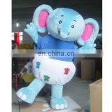 animal fancy dress/ elephant fur costume/ advertising clothes