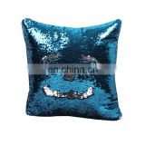Custom made reversible sequin pillow cover wholesale