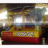 Inflatable safari bounce/inflatable jungle bounce castle/jungle jump house