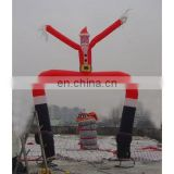inflatable santa dancer, santa air dancer, dancing Santa