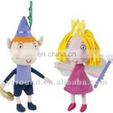 talking ben holly plush cute toys doll prince and princess