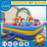 Trade Assurance slide obstacle course inflatable wipeout game made in China