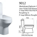 Sanitary wares one piece toilet china supplier wholesalers bathroom