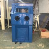 Wet manual sandblasting machine