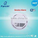 Wireless Smoke Detector Cigarette Fire Alarm Sensor Security Fire Detection System for Office Building / School / Shop