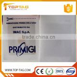 Programmable UHF Garment Rfid Smart Labels / Tags for Apparel Stock