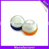 Top selling and free shipping of lovely plastic circle shaped 1gb 2gb 4gb 8gb 16gb 32gb usb flash drive / usb pen drive