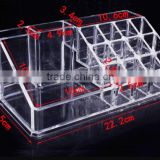 High-grade permanent makeup storage box tattoo ink acrylic holder 16