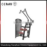 Lat Pulldown/TZ-4008/High Qualitybody building gym machine / flex exercise fitness equipment