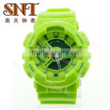 SNT-SP032B fancy dual multifunction analog digital watch