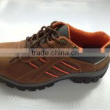 high quality men's safety shoes,leather,industril,PE,PVC,CPE,black,steel toecap,hot selling
