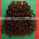 Afro hair human hair extension weaving hair deep wave hair