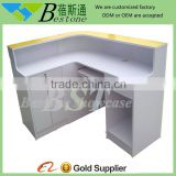 Wholesale factory price cashier counter table design, wooden shop cash counter design                                                                         Quality Choice