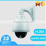 hd 1080p oem security camera ip h.265 2mp 20X ptz high speed dome camera metal dome ip outdoor